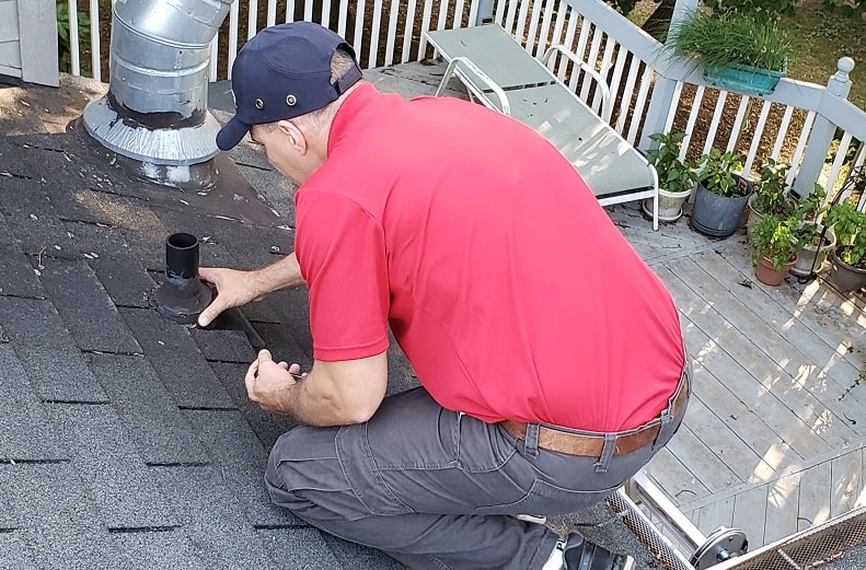 Maryland Home Inspector Roof Flashing Inspection