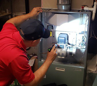 Maryland Home Inspector Furnace Inspection