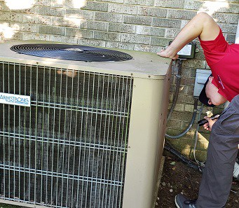 Maryland Home Inspector HVAC Inspection