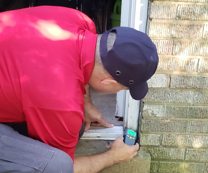 Maryland Home Inspector Moisture Intrusion Inspection
