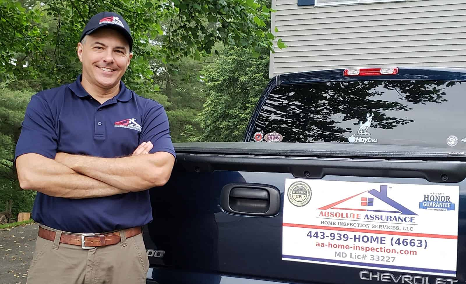 Columbia Home Inspector Certified Professional