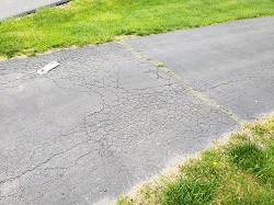 Maryland Home Inspection Driveway Inspection