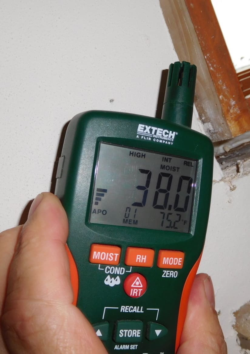 Baltimore Home Inspector Moisture Meter