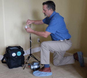MD Home Inspector Mold Pump Air Sample