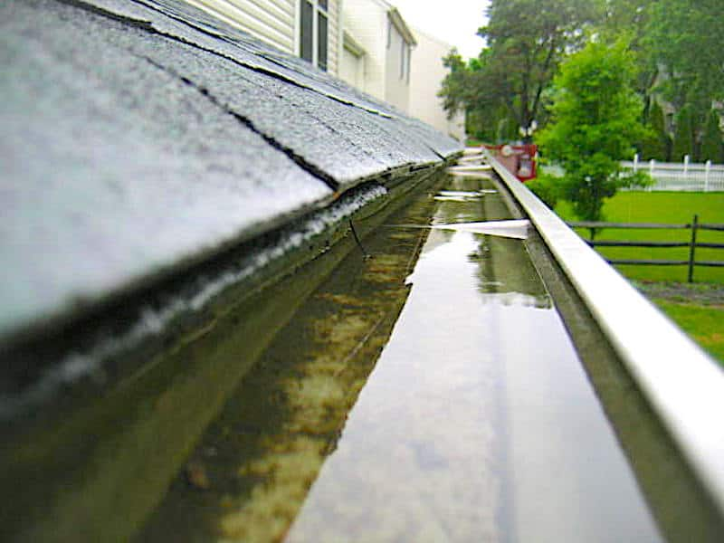 gutter problems Maryland and Pennsylvania Home Inspections