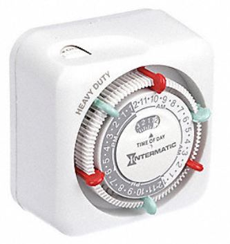 Security light timer