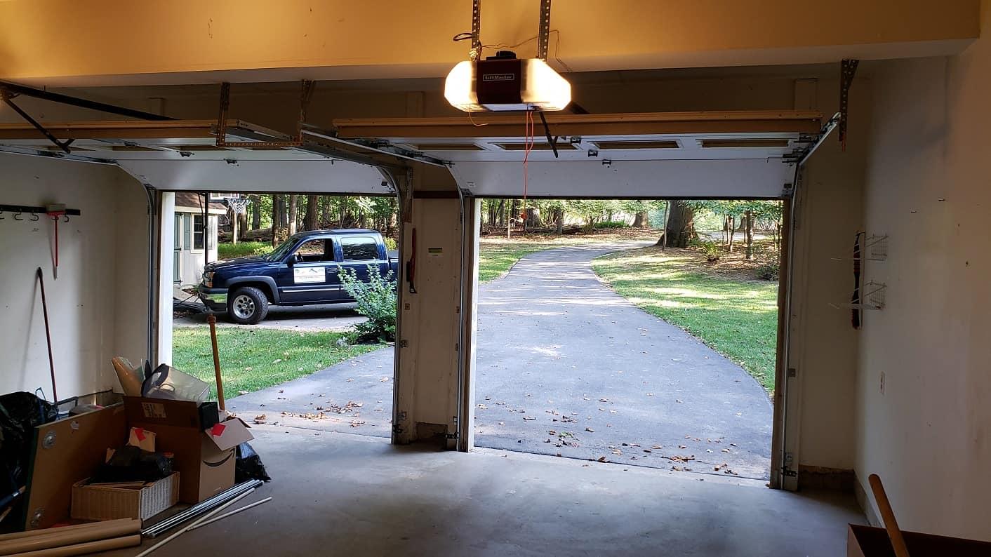 Energy Wasted Open Garage Doors